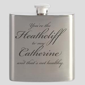 HeathclifftomyCatherineLight Flask