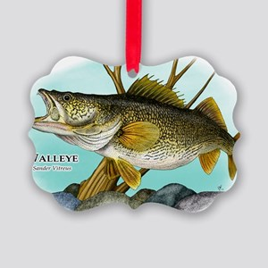 Walleye Picture Ornament