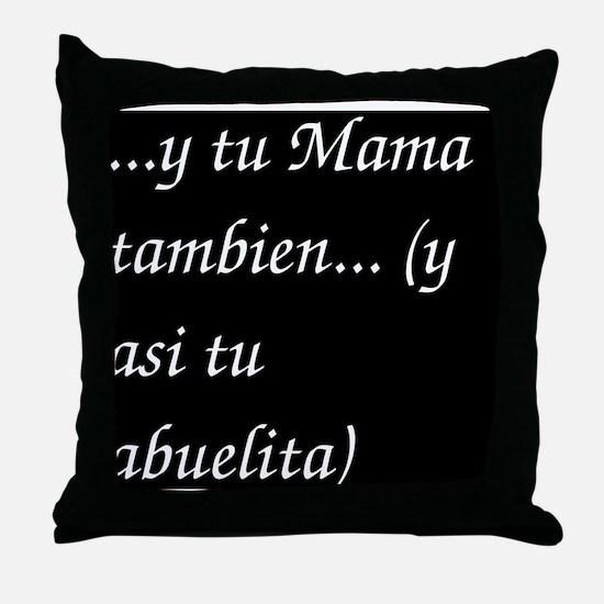 ytumama Throw Pillow