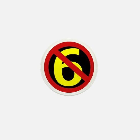 AntiSixersLogo Mini Button