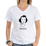 Flannery O'Connor Women's V-Neck T-Shirt