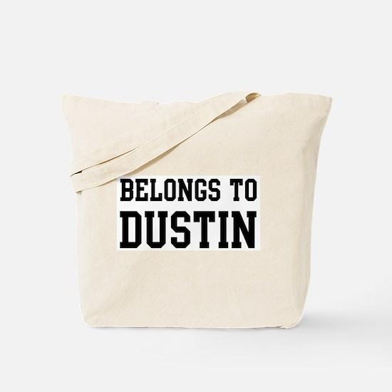 Belongs to Dustin Tote Bag
