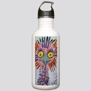 Ostrich In Pink Stainless Water Bottle 1.0L