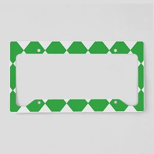 coin_diamond-green License Plate Holder