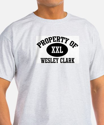 Property of Wesley Clark T-Shirt