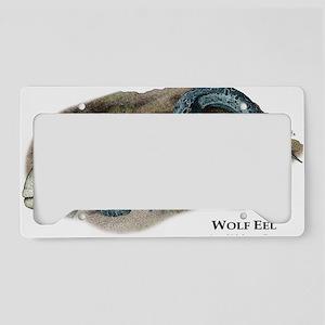 Wolf Eel License Plate Holder