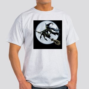 witch-broom2-BUT Light T-Shirt