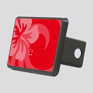 Red-Toiletry Rectangular Hitch Cover