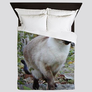 Siamese Cat Queen Duvet