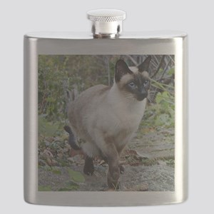 Siamese Cat Flask