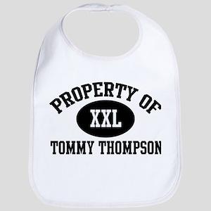 Property of Tommy Thompson Bib