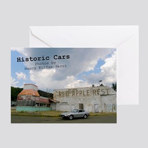 historic cars calendar z Greeting Card