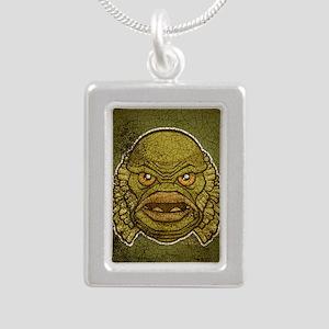11x17_print_creature_img Silver Portrait Necklace