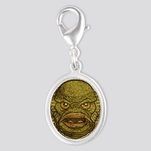 11x17_print_creature_img Silver Oval Charm