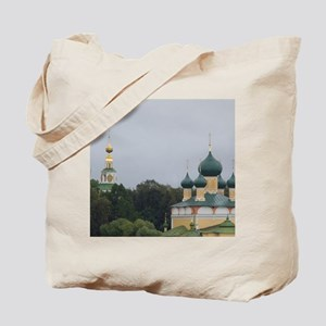 Golden Ring city of Uglich on the Volga.  Tote Bag
