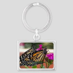 Twin Monarchs toiletry bag Landscape Keychain