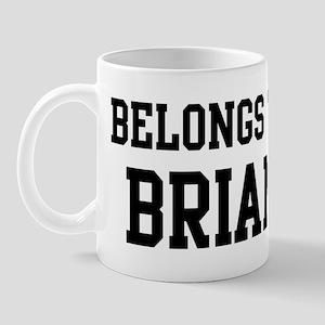 Belongs to Brian Mug
