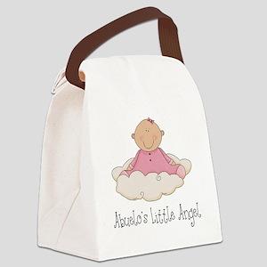 Girl Abuelos Angel Canvas Lunch Bag