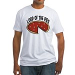 Lord of the Pies Fitted T-Shirt