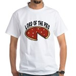Lord of the Pies White T-Shirt