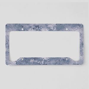 Gray Digi Camo License Plate Holder
