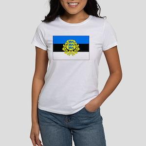 Estonia w/ coat or arms Women's T-Shirt