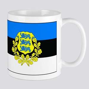 Estonia w/ coat or arms Mug
