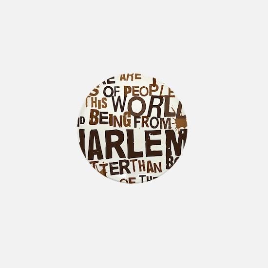 harlem_brown Mini Button