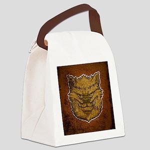 ipadsleeve_img_werewolf_brown Canvas Lunch Bag