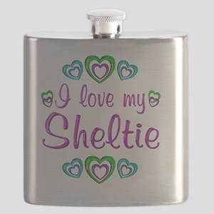 sheltie Flask