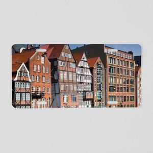 Warehouse buildingsamburg,  Aluminum License Plate