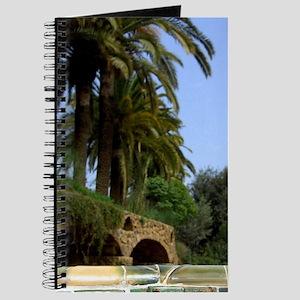 Architecture by Antoni Gaudi (1852-1926).  Journal