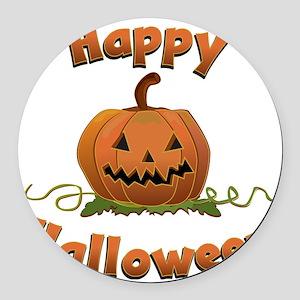 happy halloween Round Car Magnet