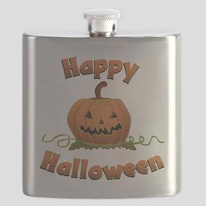 happy halloween Flask