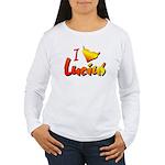 I love Lucius Women's Long Sleeve T-Shirt