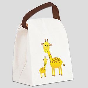 Giraffe3 Canvas Lunch Bag