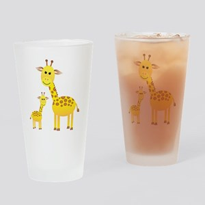 Giraffe3 Drinking Glass