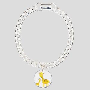 Giraffe3 Charm Bracelet, One Charm