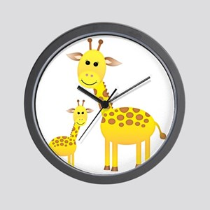 Giraffe3 Wall Clock