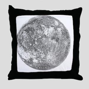 2000x2000moon Throw Pillow
