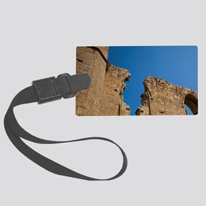 Ruins of the church of St George Large Luggage Tag