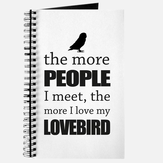 The More People I Meet - Lovebird Journal