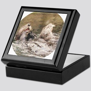 otter 2 Keepsake Box