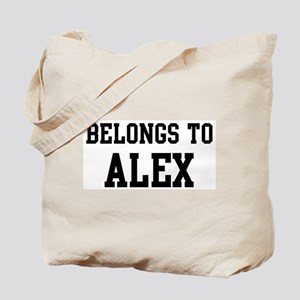 Belongs to Alex Tote Bag