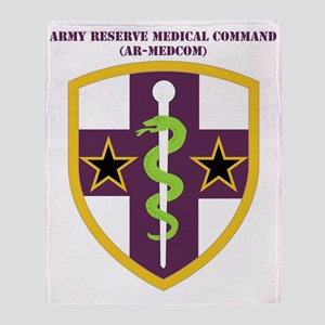 SSI ARMY RESERVE MEDICAL COMMAND WIT Throw Blanket