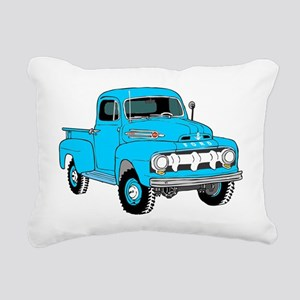 Old Truck Rectangular Canvas Pillow