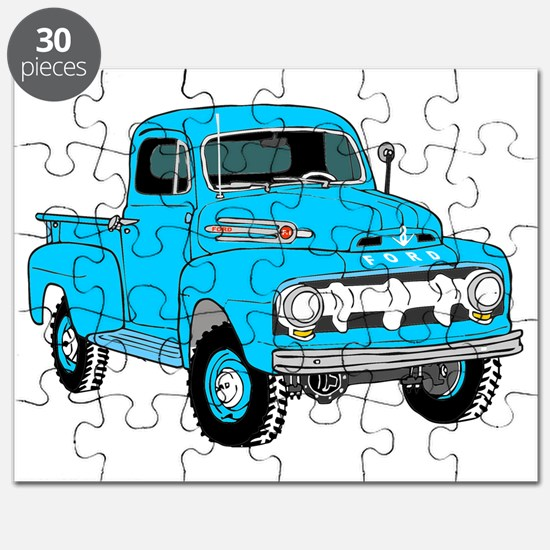 Old Truck Puzzle