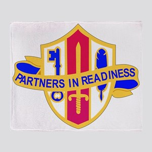 DUI-US ARMY RESERVE JNT AND SP TPS S Throw Blanket