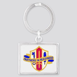 DUI-US ARMY RESERVE JNT AND SP  Landscape Keychain