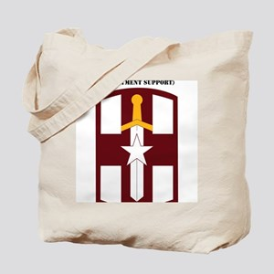SSI-807TH MEDICAL SUPPORT COMMAND WITH TE Tote Bag